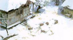 宮崎駿的御用畫師 - 男鹿和雄 插畫作品 » ㄇㄞˋ點子靈感創意誌