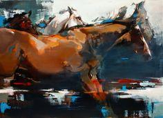 Scott Ewen - Oil paintings   Big Animals