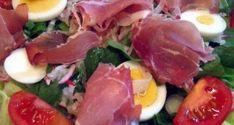 Mézes sonkás tojásos saláta Caprese Salad, Tuna, Fish, Diet, Pisces, Insalata Caprese, Atlantic Bluefin Tuna