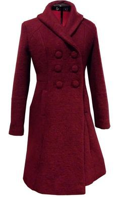 Helles Syskrin: søm - kåpe - wool coat