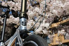 No.210 / ©たなりょ / DAHON PRESTO SL 30周年記念モデル 2013年式 / 昨年の春、樹齢45年以上の自宅の桜の花の前で撮りました。3枚お送りします。桜の背景に自転車が映えるよう位置決めするのに苦労しました。3枚とも写真は加工しておりません。