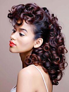 teamblackhurromg black-african american-woman-sondrea salon- color highlights-el…