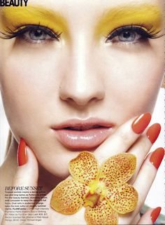 In Bloom, Flare June 2012. Photographed by Zhang Jingna, Makeup by Diana Carreiro and Hair by Justin German