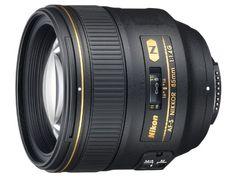 Nikon 85mm f/1.4G AF-S Nikkor Lens for Nikon Digital SLR $1699.00--Wish list!!