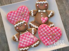 SugarBliss Cookies: Gingerbread Kids