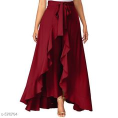 Checkout this latest Skirts Product Name: *Designer Women's Skirt* Fabric: Rayon Size: S- 34 in M- 36 in L- 38 in Front Length: 32 in Description: It Has 1 Piece Of Skirt Work: Solid Country of Origin: India Easy Returns Available In Case Of Any Issue   Catalog Rating: ★4.1 (557)  Catalog Name: Romita Casual Solid Women Skirts CatalogID_64271 C79-SC1040 Code: 554-578704-5241