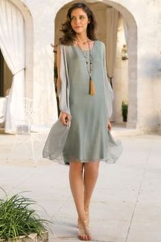Petites Silk Tribeca Dress from Soft Surroundings