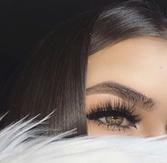 Cute Hairstyles, Make Up, Nails & Beauty Related Things ❤ Kiss Makeup, Love Makeup, Hair Makeup, Makeup Eyes, Gorgeous Makeup, Beauty Make-up, Beauty Hacks, Hair Beauty, Beauty Tips