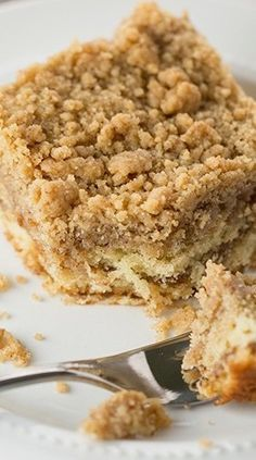 """Crumb Coffee Cake  hoping this is the same recipe my mom used to make. she used to call it """"buttermilk pie"""""""