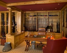 Gun room/office