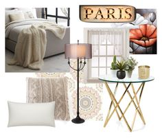 """""""Paris Apartment"""" by directioner1dx ❤ liked on Polyvore featuring interior, interiors, interior design, casa, home decor, interior decorating, West Elm, Pom Pom at Home, Crate and Barrel e Thumprints"""