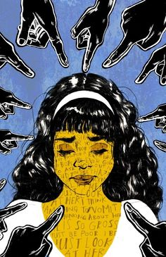 Bullying Posters, Protest Art, Protest Posters, Arte Obscura, Arte Sketchbook, Sad Art, A Level Art, Feminist Art, Canvas Art