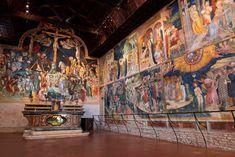 ORATORIO DI SAN GIOVANNI BATTISTA, Urbino. Beautiful Villas, Furla, Fresco, Wonders Of The World, Catholic, San Giovanni, Wall Art, Painting, Bologna