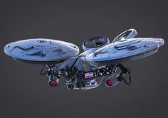 ArtStation - Aerial Drone Concept, Dieter Pilger