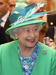 Regina Elisabetta in visita in Irlanda