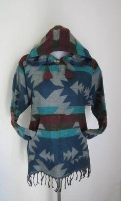 WOOLEN   Unisex  Handmade Hooded Top by isoleynz on Etsy