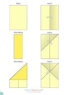 paper airplane jet instructions