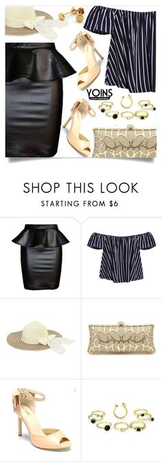 """""""Yoins 1"""" by mell-2405 ❤ liked on Polyvore featuring yoins, yoinscollection and loveyoins"""