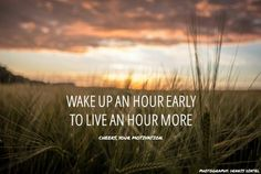 Early morning #quote