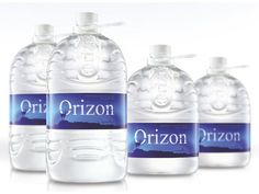 Orizon Mineral Water on Packaging of the World - Creative Package Design Gallery