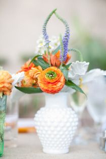 In general I just love the flowers from this wedding!