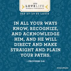 God will help you navigate through this life!