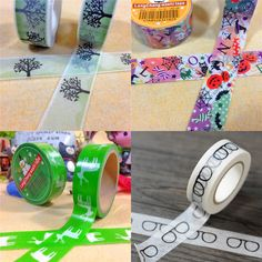 Japanese Paper Adhesive Tapes from Pandahall.com