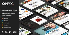 Onyx - A Powerful Multi-Concept Business Theme - Business Corporate