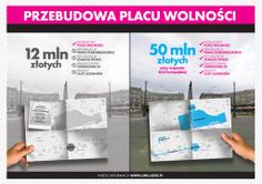 [Rewitalizacja] Propozycje dot. przebudowy Placu Wolności w Łodzi oraz jego otoczenia