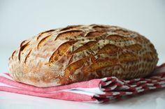 Kublanka vaří doma - Pšenično-žitný-kváskový chléb Home Baking, Pork, Food And Drink, Turkey, Bread, Cooking, Recipes, Hampers, Diet