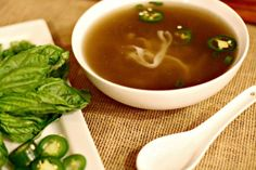 Vietnamese Pho Recipe - easy to make in the slow cooker and a nice change for dinner