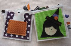 Boo Halloween Quiet Book - PDF Pattern and Kit. $24.00, via Etsy.