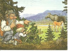 Rolf Lidberg Fantasy Kunst, Fantasy Art, Baumgarten, Fairytale Art, Christmas Gnome, Magical Creatures, Candyland, Faeries, Pretty Pictures