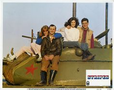 Bill Murray, Harold Ramis, Sean Young, and P. Soles in Stripes Movie Photo, Picture Photo, Top 10 Films, Harold Ramis, Elizabeth Mcgovern, Sean Young, Lennon And Mccartney, Entertainment, Movies