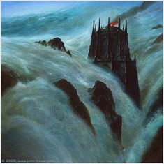 The Drowning of Numenor ~ John Howe