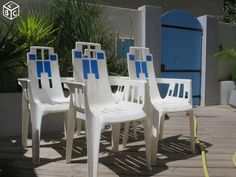 Chaises de jardin Pierre Paulin collection