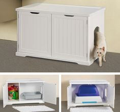 Cat Washroom Bench by Merry Products, Cat Furniture 177