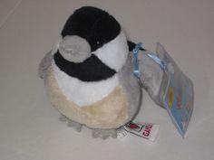 GANZ WEBKINZ Lil' Kinz Plush Stuffed Toy Animal CHICKADEE HS501 Sealed code NWT #GANZ