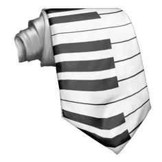 Keyboard / Piano Keys: Custom Necktie: Tie  #ties