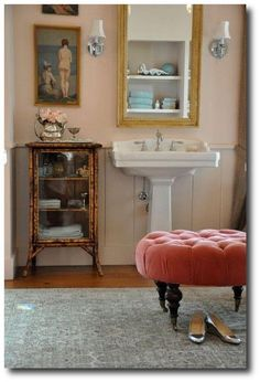 Farrow and Ball Pink Ground.