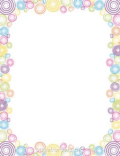 Printable spiral border. Use the border in Microsoft Word or other programs for creating flyers, invitations, and other printables. Free GIF, JPG, PDF, and PNG downloads at http://pageborders.org/download/spiral-border/