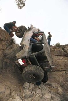 Hang on! 1990 Jeep YJ