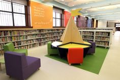 St. Louis Public Library $70 million restoration : Stltoday    love the colors and the quotes on the wall!