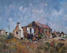 Artwork of Conrad Theys exhibited at Robertson Art Gallery. Original art of more than 60 top South African Artists - Since South Africa Art, East Africa, South African Artists, Building Art, Post Impressionism, London Art, Old Master, Original Art, Art Gallery