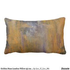 Golden Haze Lumbar Pillow 33 cm x 53 cm
