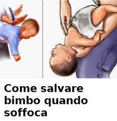 Come salvare un bambino quando soffoca (video)