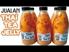 Membuat Thai Tea Jelly Ekonomis Buat Jualan Ide Usaha Pemula! Cocok untuk Takjil Tajil Buka Puasa - YouTube Tai Tea, Thai Tea Recipes, Healthy Food Instagram, Milkshake Drink, Milk Jelly, Popular Drinks, Indonesian Cuisine, Cooking Cake, Pudding Desserts