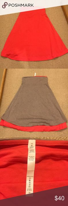 Lululemon convertible, reversible skirt/dress Wear it on its own or as a cover up! Flip it inside out for a more neutral grey color. Practically new, never worn. lululemon athletica Dresses Strapless