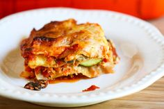 Portobello and Summer Squash Lasagna