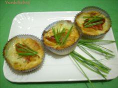 Pasticcini salati speck e mozzarella